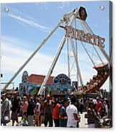 Pirate Ship At The Santa Cruz Beach Boardwalk California 5d23854 Acrylic Print by Wingsdomain Art and Photography