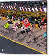 Pit Road Acrylic Print by Kenneth Krolikowski