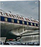 Plane Fly Eastern Air Lines Acrylic Print by Paul Ward