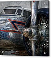 Plane - Hey Fly Boy  Acrylic Print by Mike Savad