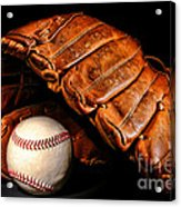 Play Ball Acrylic Print by Olivier Le Queinec