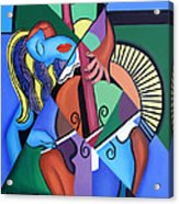 Play Me Acrylic Print by Anthony Falbo