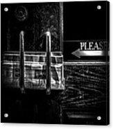 Please Acrylic Print by Bob Orsillo