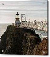 Point Bonita Lighthouse Acrylic Print by Georgia Fowler