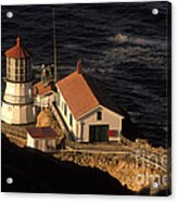 Point Reyes Lighthouse Acrylic Print by Ron Sanford