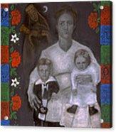 Polish Grandmother Acrylic Print by Diana Perfect