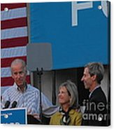 Politicians Acrylic Print by Lisa Gifford