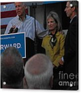 Politicians Sept 21 2012 Acrylic Print by Lisa Gifford