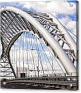 Ponte Settimia Spizzichino Acrylic Print by Fabrizio Troiani