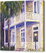 Poogan's Porch Acrylic Print by Patricia Huff