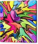 Popsicle Acrylic Print by Chris Butler
