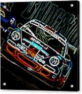 Porsche 911 Racing Acrylic Print by Sebastian Musial
