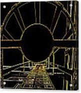 Portal Acrylic Print by Guy Pettingell
