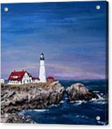 Portland Head Lighthouse Acrylic Print by Jack Skinner