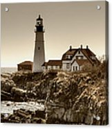 Portland Head Lighthouse Acrylic Print by Joann Vitali