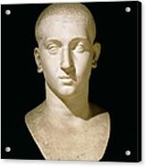 Portrait Bust Of Emperor Severus Alexander Acrylic Print by Anonymous