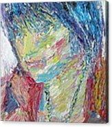 Portrait Of A Boy - Marcus Acrylic Print by Fabrizio Cassetta