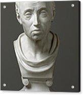 Portrait Of Emmanuel Kant  Acrylic Print by Friedrich Hagemann