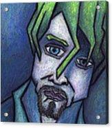 Portrait Of Kurt Acrylic Print by Kamil Swiatek