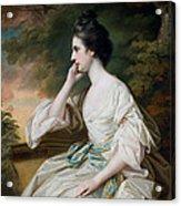 Portrait Of Miss Anne Dutton Acrylic Print by Francis Cotes