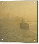 Postcards From New York Acrylic Print by Joann Vitali