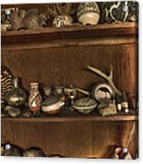 Pots And Things Acrylic Print by William Fields