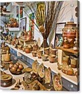 Pottery In La Borne Acrylic Print by Oleg Koryagin