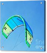 Power Kite Acrylic Print by DejaVu Designs