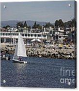 pr 193 - The Sailboat Acrylic Print by Chris Berry