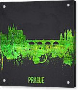 Prague Czech Republic Acrylic Print by Aged Pixel