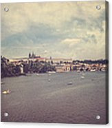 Prague Days II Acrylic Print by Taylan Soyturk