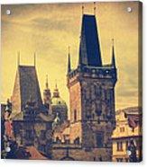 Praha Acrylic Print by Taylan Soyturk