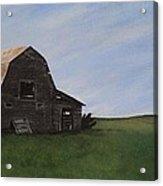 Prairie Barn Acrylic Print by Jesslyn Fraser