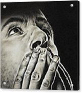 Prayer Acrylic Print by Natasha Denger