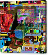 precious is man for he is created in the Divine Image 13 Acrylic Print by David Baruch Wolk