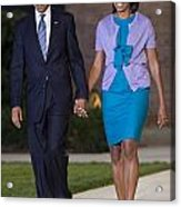 President And First Lady Acrylic Print by JP Tripp