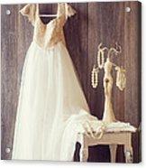 Pretty Dress Acrylic Print by Amanda And Christopher Elwell
