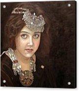 Princess Of The East Acrylic Print by Enzie Shahmiri