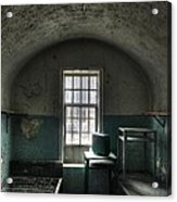 Prison Cell Acrylic Print by Jane Linders