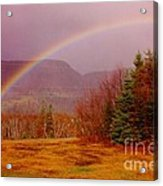 Promise And Hope Cape Breton Acrylic Print by John Malone