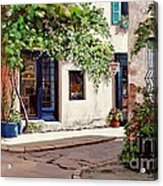 Provence Antiques Acrylic Print by Michael Swanson