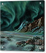 Pulsar Planets I Acrylic Print by Lynette Cook