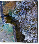 Purl Of A Brook 1 - Featured 3 Acrylic Print by Alexander Senin