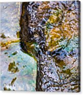 Purl Of A Brook 2 - Featured 3 Acrylic Print by Alexander Senin