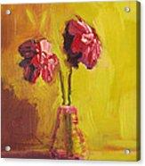 Purple Flowers Acrylic Print by Patricia Awapara