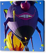 Purple People Eater And Friend Acrylic Print by Garry Gay