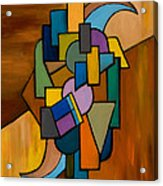 Puzzle IIi Acrylic Print by Larry Martin