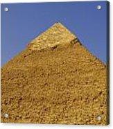 Pyramids Of Giza 06 Acrylic Print by Antony McAulay