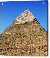 Pyramids Of Giza 15 Acrylic Print by Antony McAulay