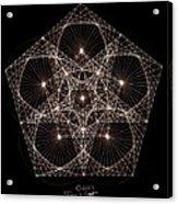 Quantum Star II Acrylic Print by Jason Padgett